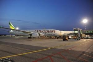 Criand presenta il Dreamliner di Ethiopian Airlines a Malpensa