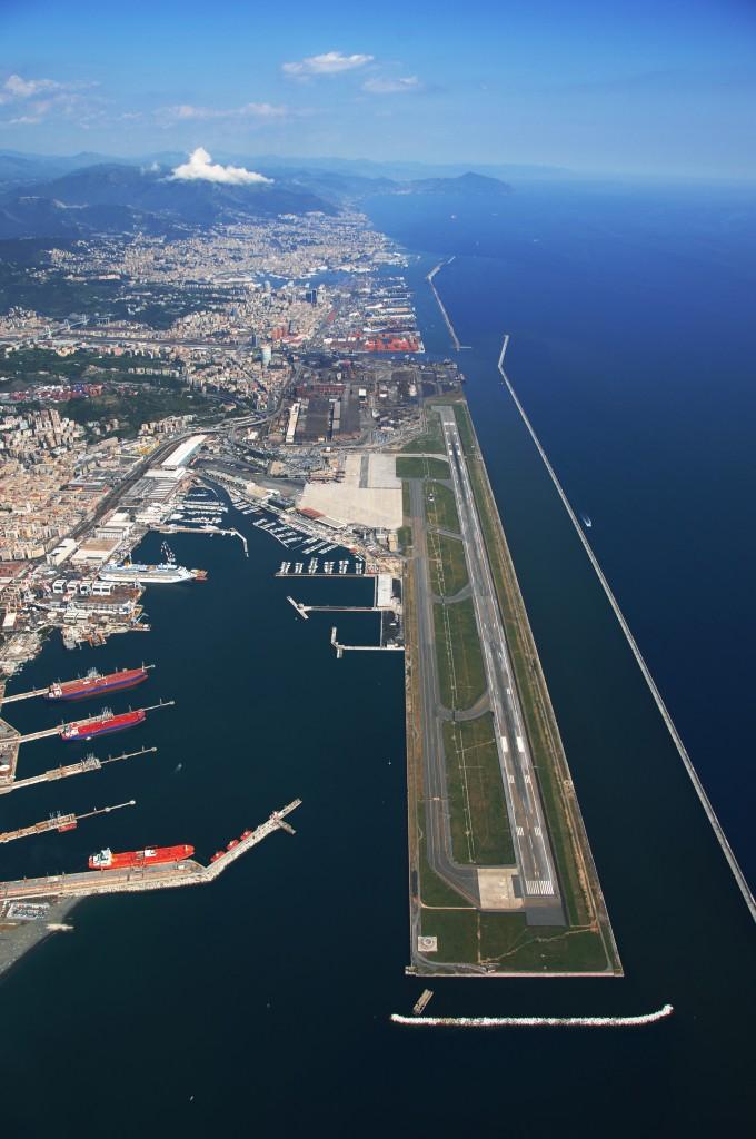 Uscita Genova Aeroporto : Aeroporto genova dal i lavori di ampliamento