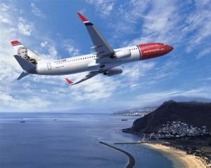 Norwegian aumenta del 30% l'offerta sulla Nizza - Oslo
