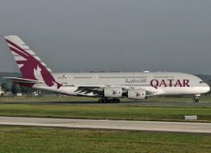 Il primo A380 di Qatar Airways debutta sulla rotta Doha-Londra