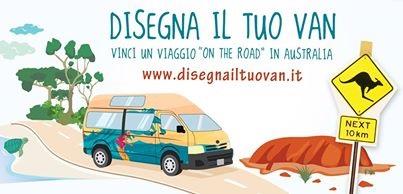 Tourism australia lancia l app disegna il tuo van for Disegna il tuo giardino