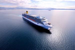 Costa Crociere al primo posto nel 2014 per numero di porti italiani
