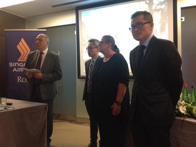 Singapore punta nuovamente sul mercato italiano for Singapore airlines sito italiano