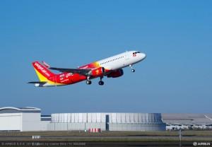 VietJetAir riceve il primo Airbus A320