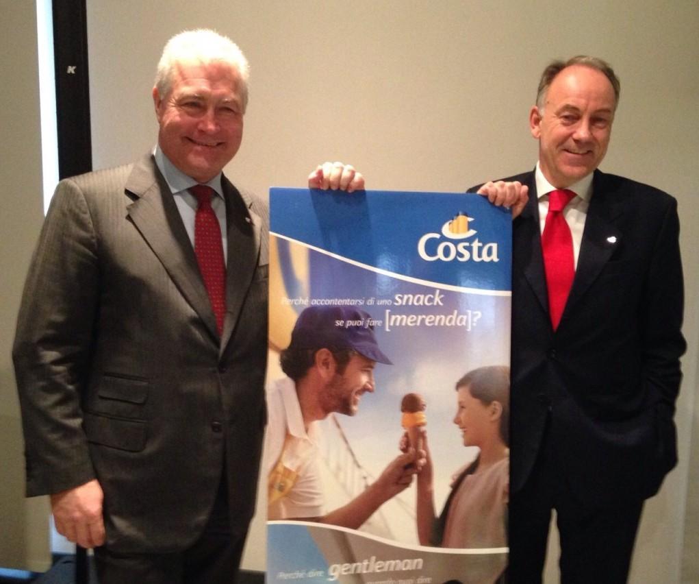 Costa Crociere, nuova campagna nel segno dell'italianità