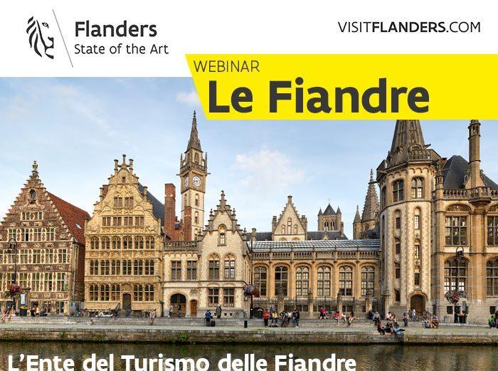 Iscriviti al Webinar Turismo Fiandre!