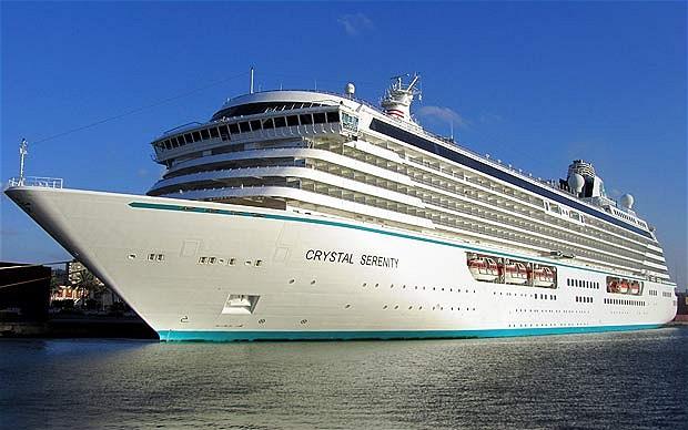 Crystal Cruises Passa Alla Cinese Genting Hong Kong