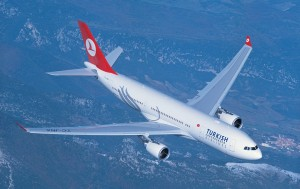 Turkish Airlines, Super Bowl in diretta a bordo