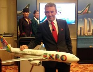 Alitalia ed Etihad in corsa verso Expo: «Puntiamo al 100% di riempimento»