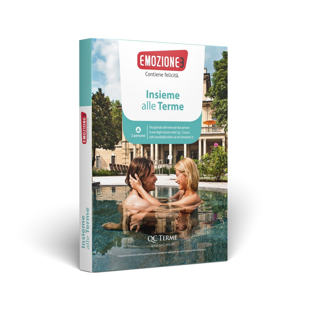 Cofanetto benessere Emozione3 con Qc Terme - TravelQuotidiano