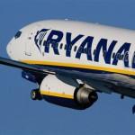 Ryanair: 92% dei voli in orario in ottobre