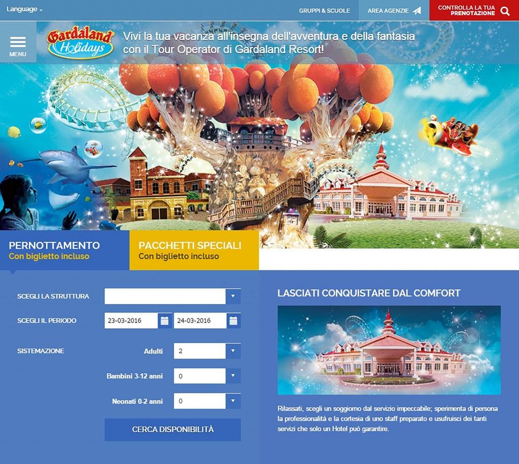 Gardaland Holidays, pacchetti e soggiorni da acquistare online ...