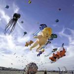 Cervia celebra il Festival dell'aquilone