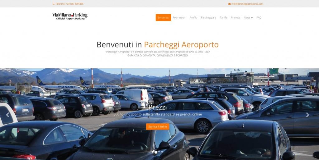Aeroporto Bergamo : Aeroporto bergamo nuovo sito ufficiale per i parcheggi