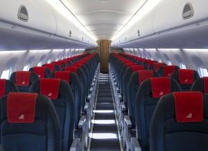 Alitalia, quinto volo da Linate a London City Airport