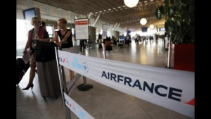 Air France: domani lo sciopero del personale di bordo