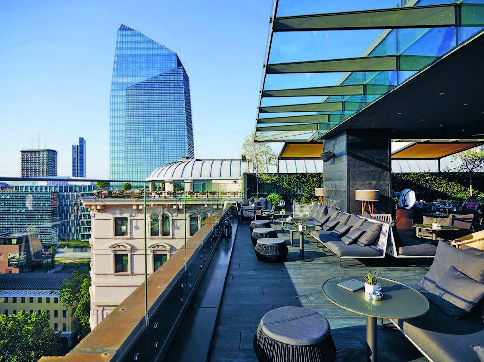 Me milan il duca ospita la nuova lounge dello champagne for New design hotels 2016
