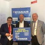 Ryanair presenta l'operativo invernale da Catania