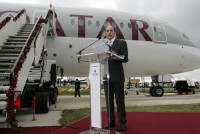 Pic-1-Qatar-Airways-CEO-Akbar-Al-Baker-at-the-unveiling-ceremony-of-Qatar-Airways'-new-Boeing-787-Dreamliner1