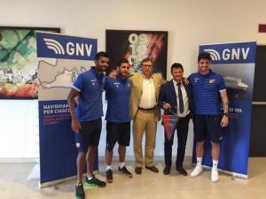 Gnv sponsor del Catania: «Rafforziamo il legame con il territorio»