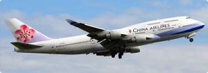 China Airlines aumenta la franchigia sul bagaglio