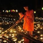 La Thailandia celebra in novembre il festival Loi Krathong