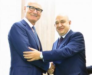 Il Presidente ASTOI, Nardo Filippetti con il Ministro del Turismo egiziano, Mohamed Yahiya Rashid