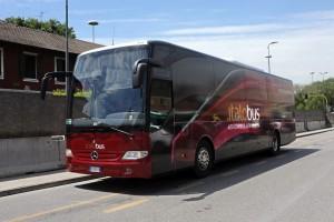 Italobus arriva all'aeroporto di Milano Bergamo e Capriate