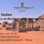 I Viaggi di Maurizio Levi presenta a Torino il Sudan archeologico