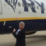 O'Leary: «Alitalia taglia sul corto raggio. Noi continuiamo a crescere»