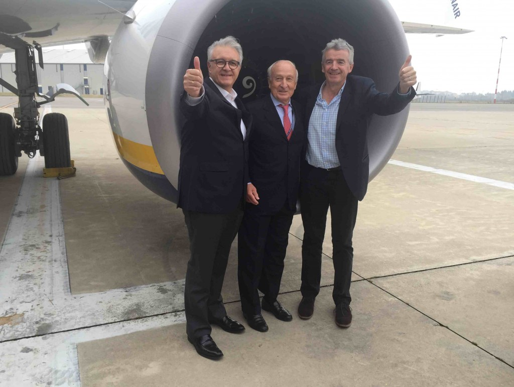 Ryanair: 32,5 mln per nuovo hangar a Orio, creati 80 posti