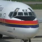 Meridiana, il primo MD-80 arriva al museo di Volandia