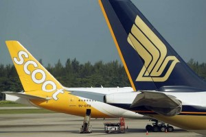 Scoot, Singapore Airlines