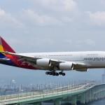 Asiana Airlines potenzia la capacità su Roma