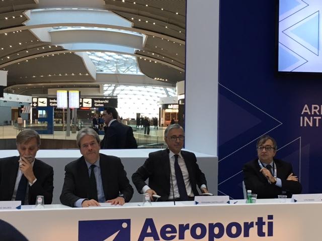Aeroporto di Fiumicino sempre più eccellenza internazionale