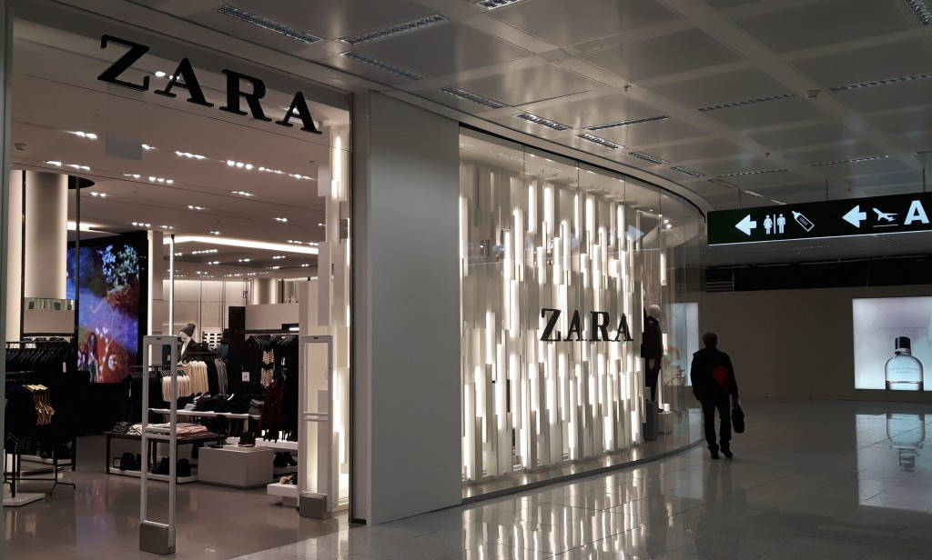 Apre a malpensa il pi grande store zara in aeroporto for Zara uffici milano