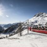 Il Trenino Rosso sulla neve: ecco l'inverno autentico
