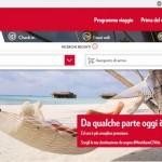 Meridiana, è online il nuovo sito web