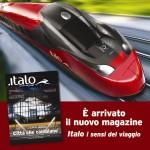 Nuovo magazine di bordo per i treni Italo