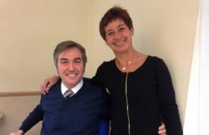 Gianluca Resmini con Cristina Spampinato