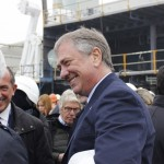 A Monfalcone la coin ceremony di Msc Seaview