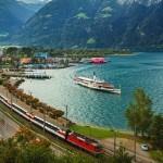 Svizzera, itinerario treno-battello con il Gotthard Panorama Express