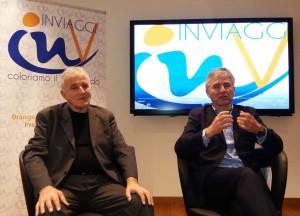 Renato Martellotti e il nuovo presidente, Andrea Rastellini