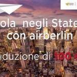 Alidays promuove gli Stati Uniti in agenzia con voli Air Berlin