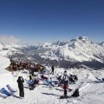 Pasqua sulla neve a Cortina tra musica e menù di primavera