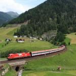 Db-Öbb EuroCity, in treno al festival Acqua e Luce di Bressanone