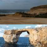 Malta: crolla l'Azure Window di Gozo
