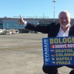 Ryanair a Bologna stima una crescita del 12% di passeggeri