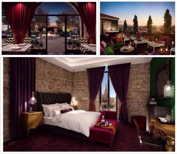 Villa brown jerusalem inaugurazione in aprile per un for Boutique hotel gerusalemme