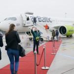 La flotta AirBaltic cresce con i Bombardier CS300